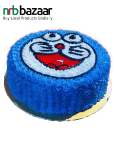 Coopers Doraemon Vanilla Cake as a Gift to your Child