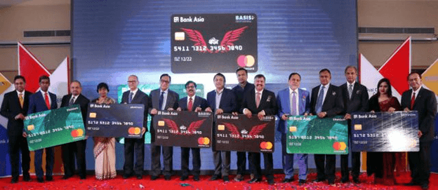 Master Card Launched in Bangladesh by Bank Asia Limited