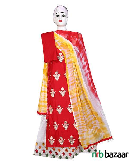 Baishakhi-Special-Four-Piece-Salwar-Kameez-Set-Online-marketin-bd