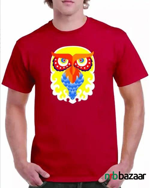 Owl-Design-Boishakh-T-shirt-Price-Online-in-Bangladesh-online-marketing-bd