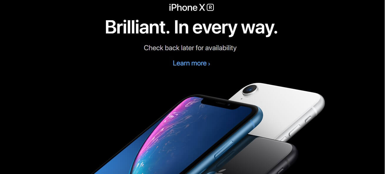 Apple also come with another iPhone called iPhone XR