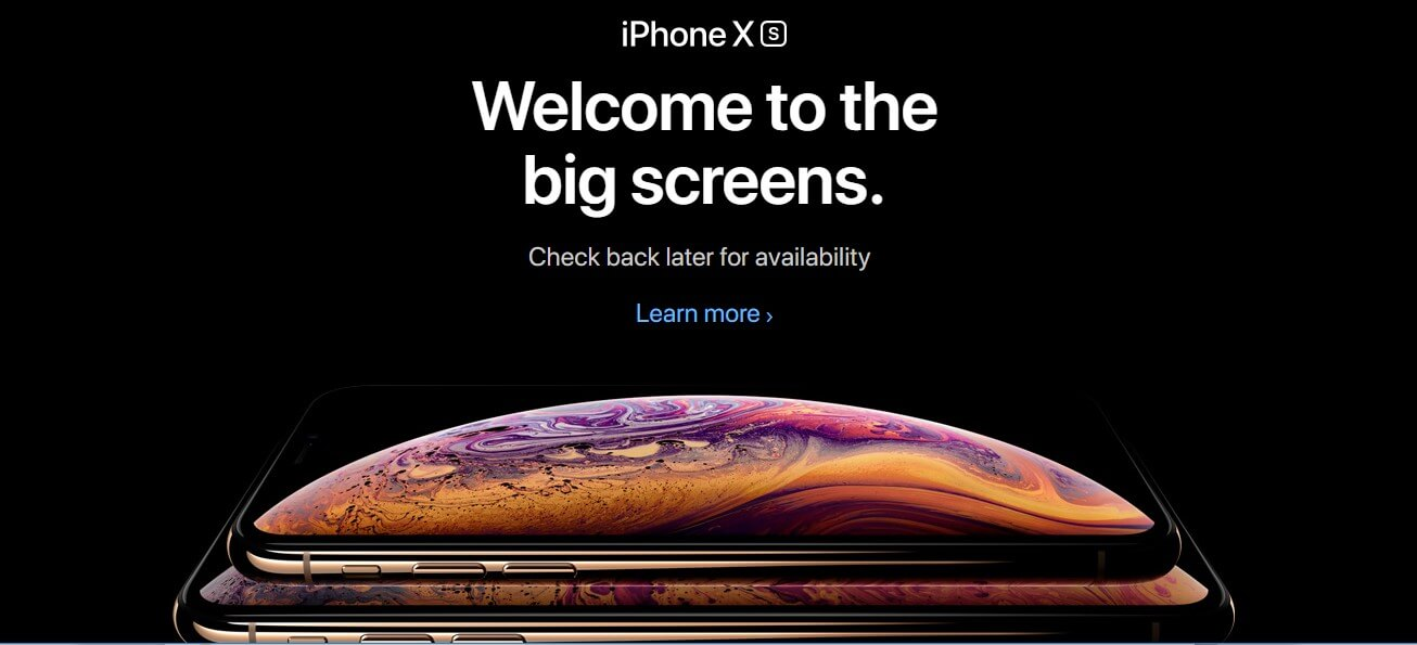 Apple iPhone Launched Latest Technology iPhone XS, XR and XS Max