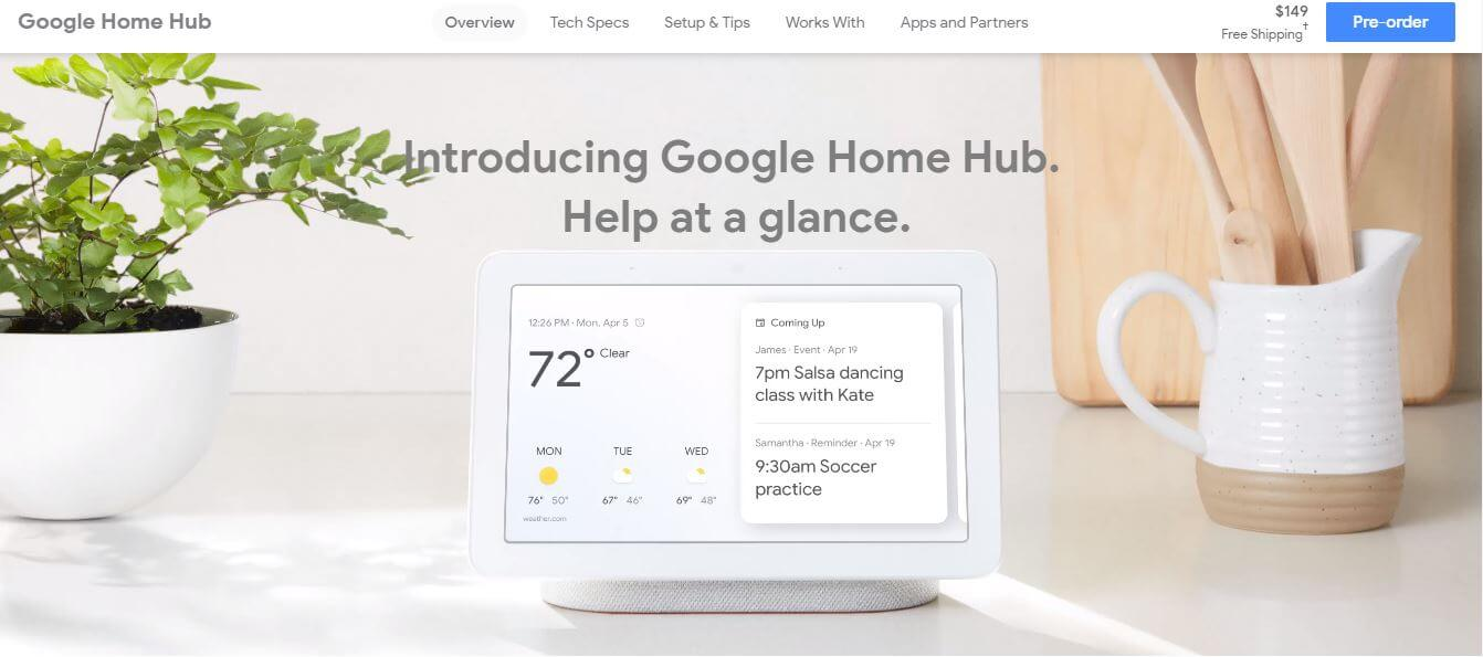 Google-Home-Hub-Likely-to-be-Released-on-October-22nd