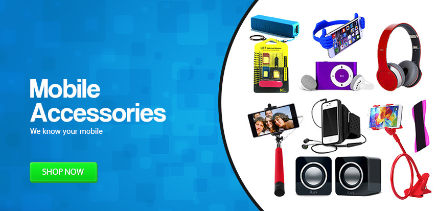 Buy Mobile Accessories Online in Bangladesh